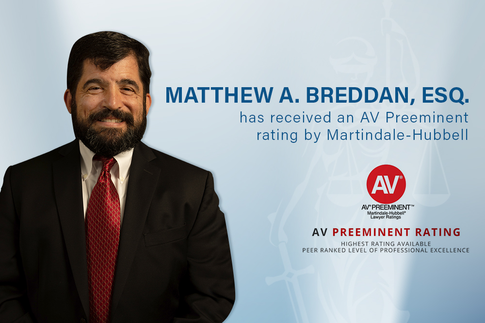 Matthew Breddan Receives Highest Ethical Rating