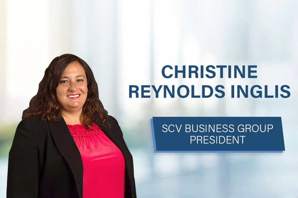 Shareholder Christine Reynolds Inglis elected SCV Business Group President