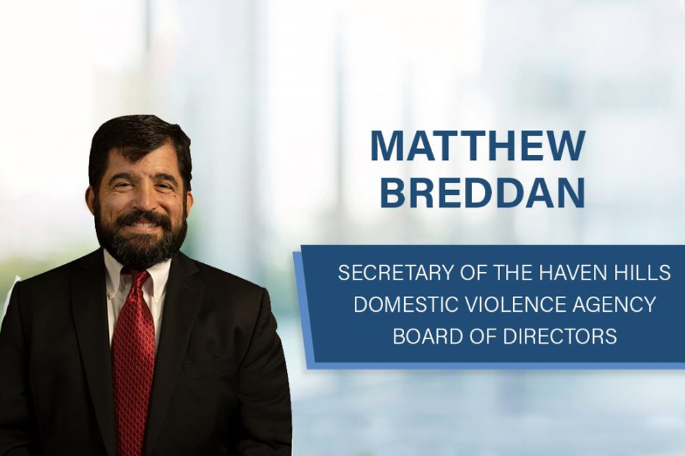 Shareholder Matthew Breddan Elected to Haven Hills Board of Directors