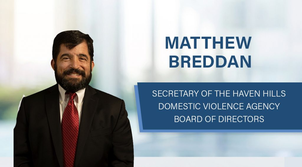 Shareholder Matthew Breddan Elected to Haven Hills Board of Directors
