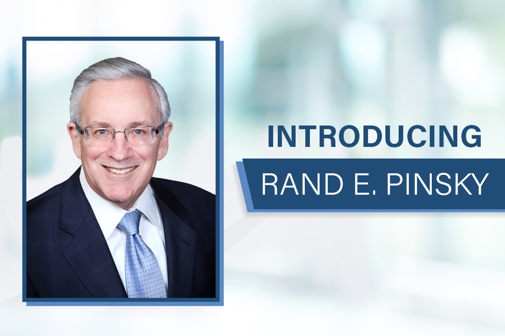 Rand E. Pinsky, Esq. Joins The Reape-Rickett Law Firm